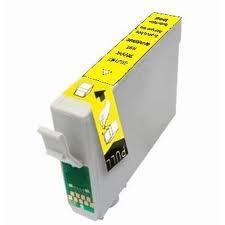 Utángyártott Epson T1004 sárga tintapatron