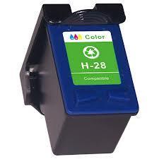 Utángyártott HP C8728A színes tintapatron (28XL) 20ml!