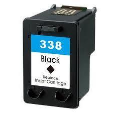 Utángyártott HP C8765AE  fekete tintapatron (338XL) 30 ml!