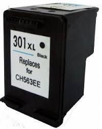 Utángyártott HP CH563EE fekete tintapatron (301XL)