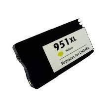 Utángyártott HP CN048AE sárga tintapatron (951XL)