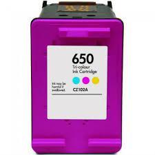 Utángyártott HP CZ102A (650) színes tintapatron