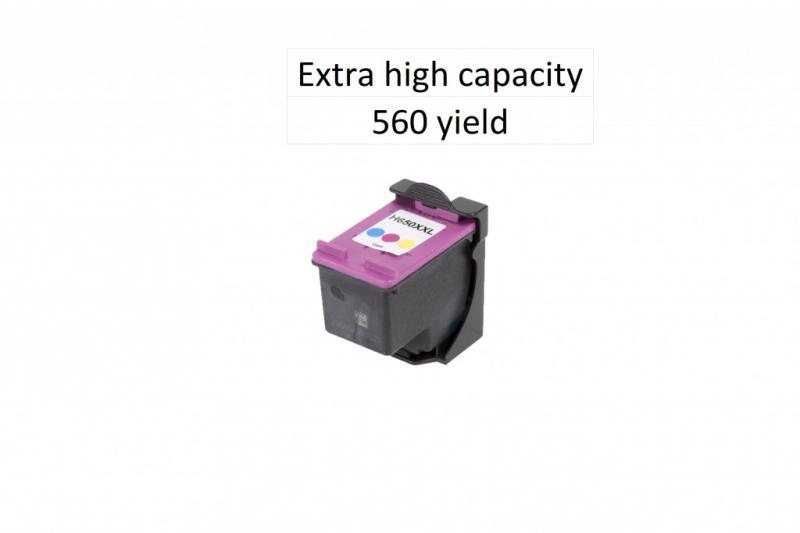 Utángyártott HP CZ102XL (650XL) színes tintapatron 14ml! Dupla kapacitás!