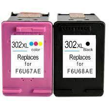 Utángyártott HP F6U67AE színes tintapatron (302XL)
