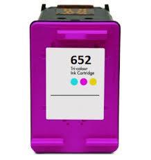 Utángyártott HP F6V24AE (652XL) színes tintapatron