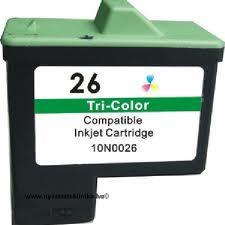 Utángyártott Lexmark 10N0026 (26) színes tintapatron