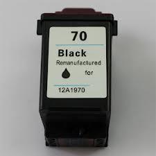 Utángyártott Lexmark 12A1970 (70) fekete tintapatron