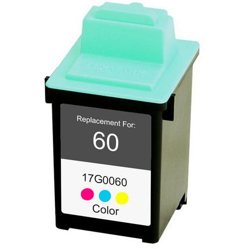 Utángyártott Lexmark 17G0060 (60) fekete tintapatron