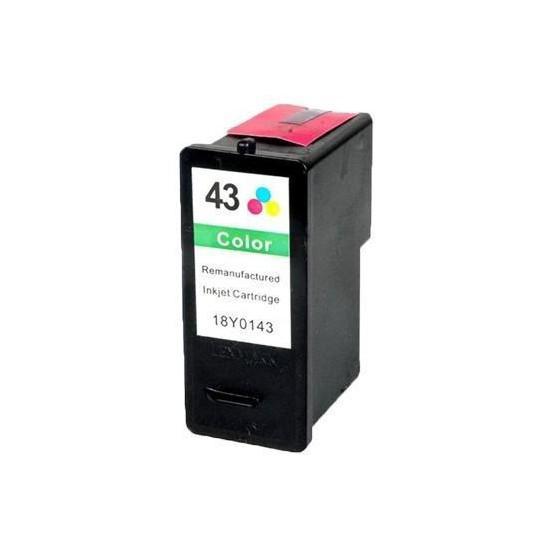 Utángyártott Lexmark 18YX143E (43XL) színes tintapatron