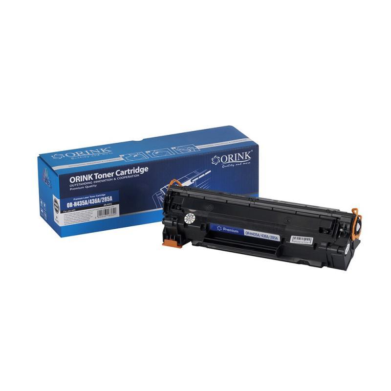 Utángyártott ORINK HP CB435/CB436/CE285 univerzális fekete toner (100% új)