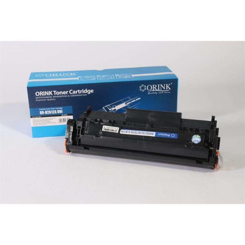 Utángyártott ORINK HP Q2612A fekete toner (100% új!)