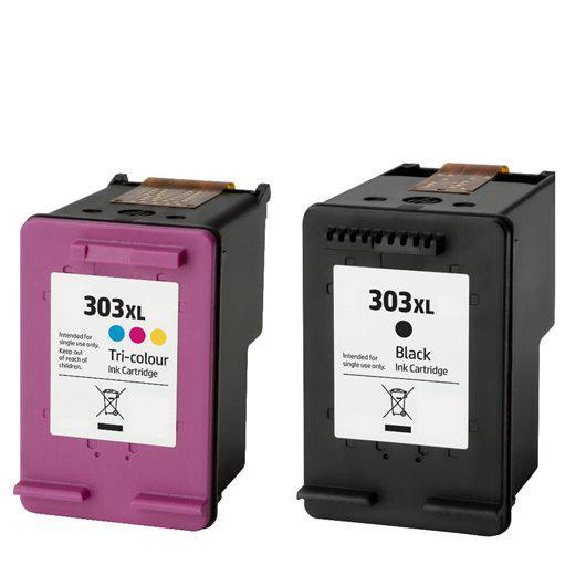 Utángyártott PREMIUM HP 303XL fekete tintapatron (T6N04AE)