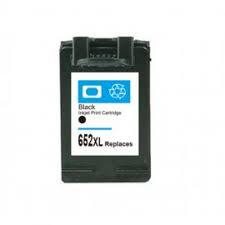 Utángyártott PREMIUM HP F6V25AE (652XL) fekete tintapatron (20ml!!!)