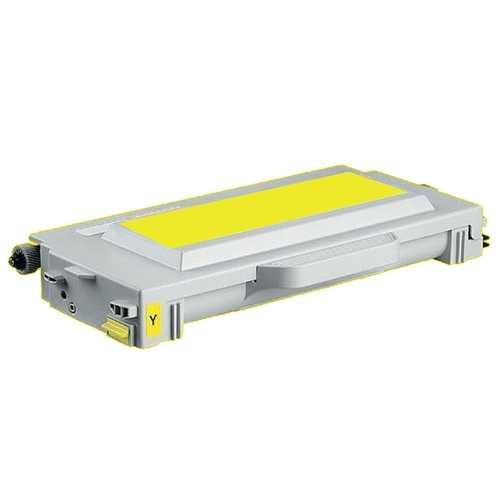 Utángyártott PREMIUM Lexmark C510Y sárga festékkazetta (20K0502) (100% új)
