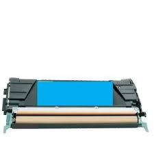 Utángyártott PREMIUM Lexmark  C734/C736/X734/X736/X738 kék toner (100% új)