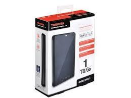 1TB Toshiba 2.5 StorE Basics USB3.0 fekete, HDTB110EK3BA