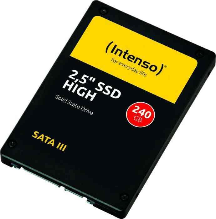 240GB Intenso HIGH 3813440 (R/W:520/480MB/s) SATA3