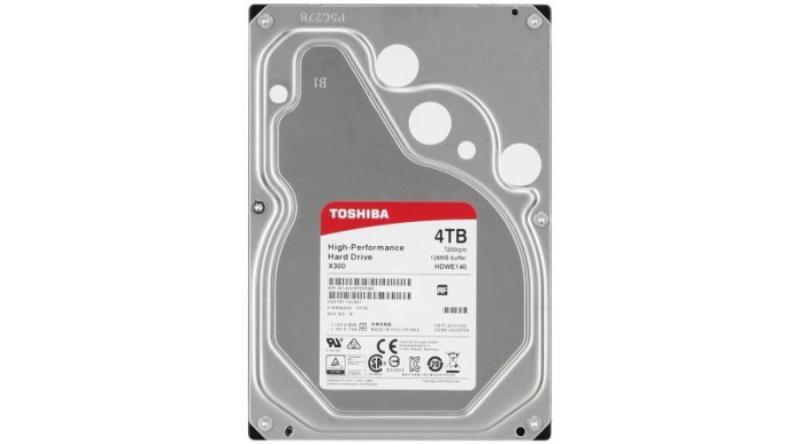 4TB Toshiba HDWE140UZSVA SATA3