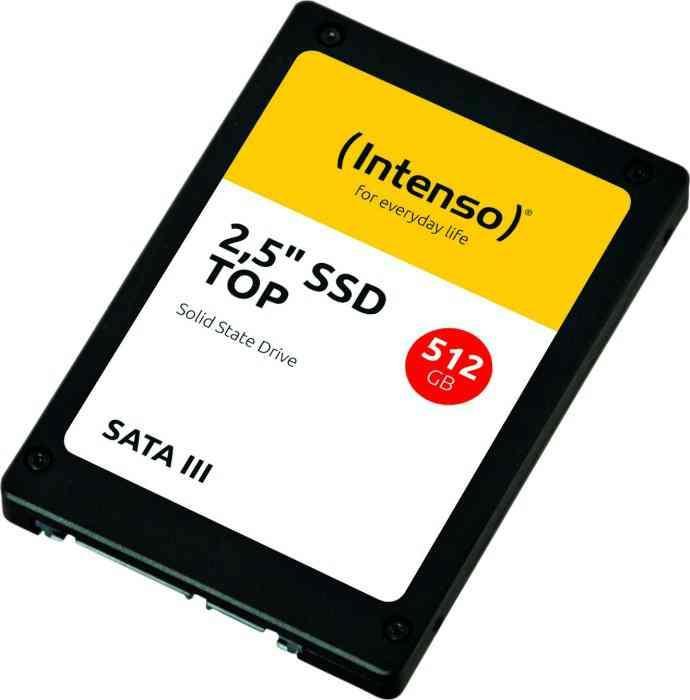 512GB Intenso TOP 2,5 3812450 (R/W:520/500MB/s) SATA3