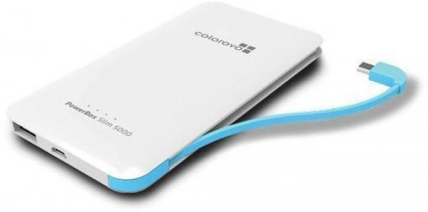 Colorovo Power bank PowerBox Compact 5000 mAh| 5V/1A