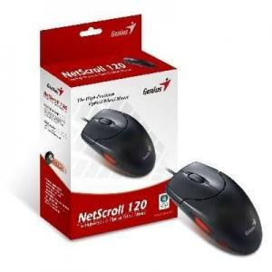 Genius Netscroll ns120 Opt. PS/2 fekete