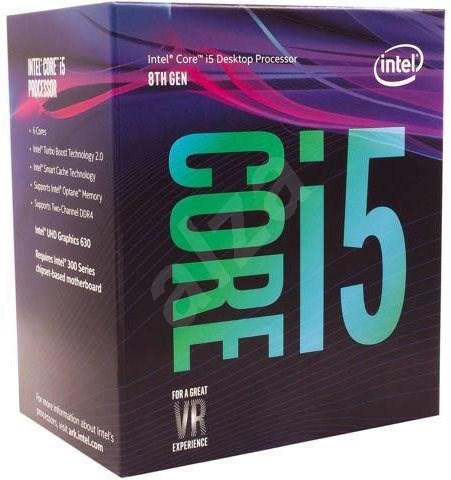 INTEL Core i5-8500 3GHz, 6core, 9MB, 65W, LGA1151v2