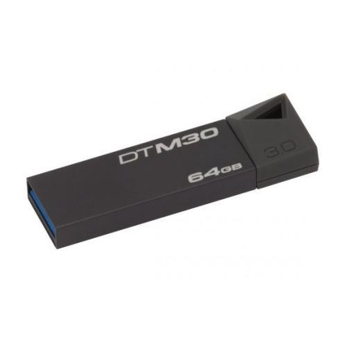 KINGSTON Pendrive 64GB, DTM USB 3.0, Mini, szürke