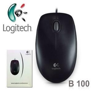 Logitech Mouse B100 Opt. USB black