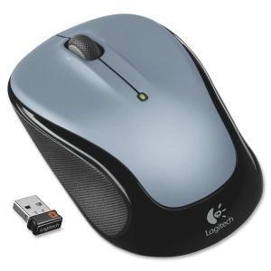 Logitech Mouse M325 rádiós opti. black/silver