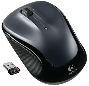 Logitech Mouse M325 rádiós opti. Light silver