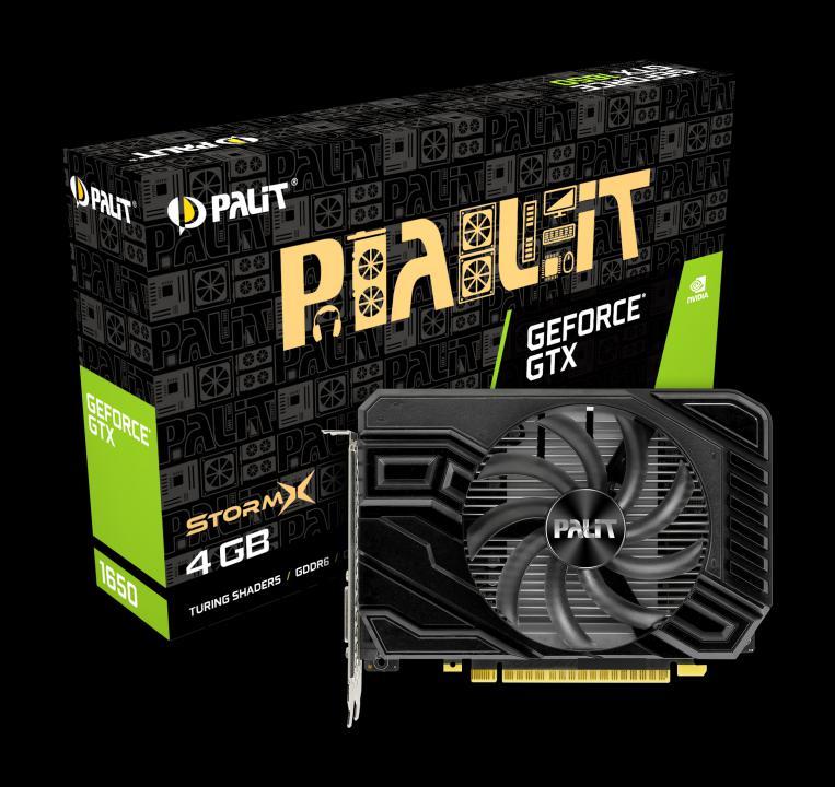 Palit GeForce GTX 1650 StormX 4GB GDDR6 128bit (NE61650018G1-166F) Videokártya
