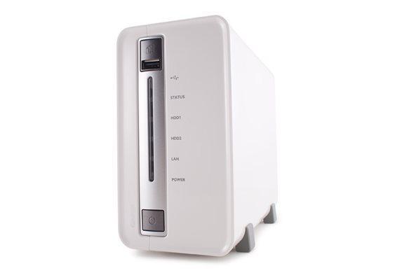 QNAP NS Storage TS-212P 2 fiókos SATA, 1 x RJ45, 3 x USB