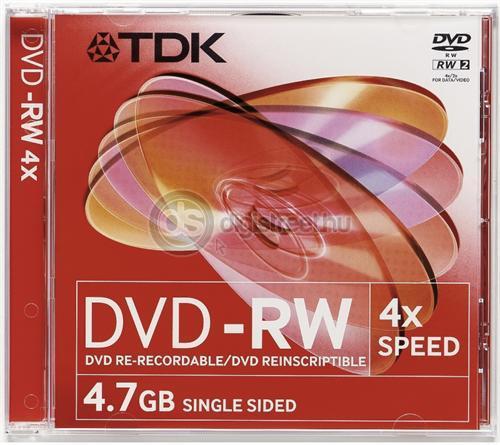 TDK DVD-RW 4,7GB 4x