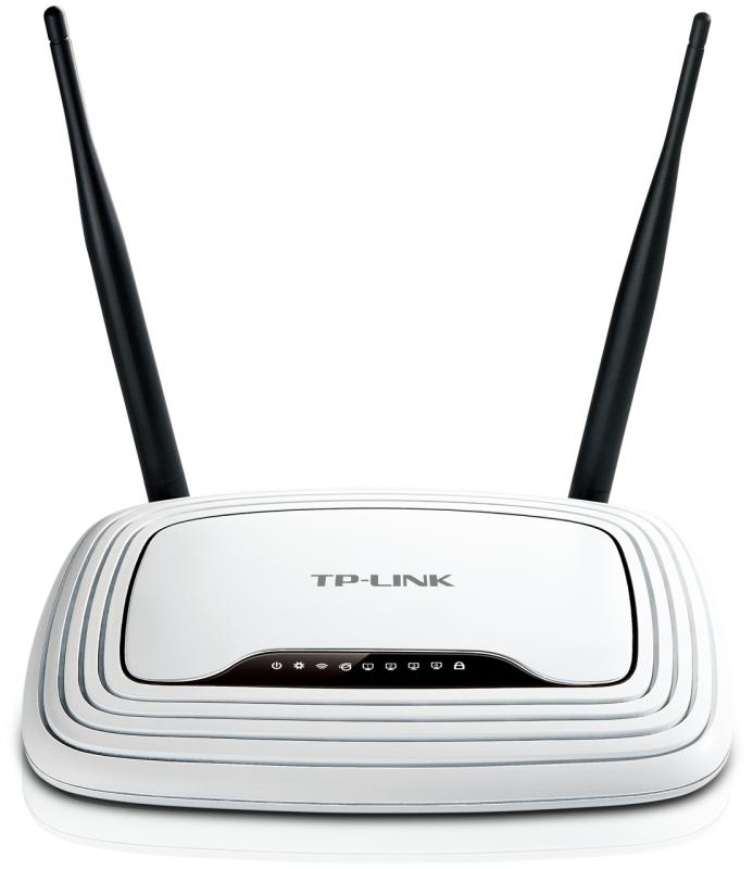 TP-LINK TL-WR841N 300M Wireless Router 2x2MIMO Fix antennás