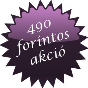 490 forintos akció