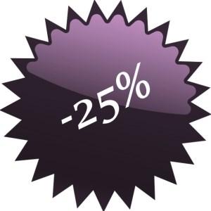 Termékek 25% kedvezménnyel