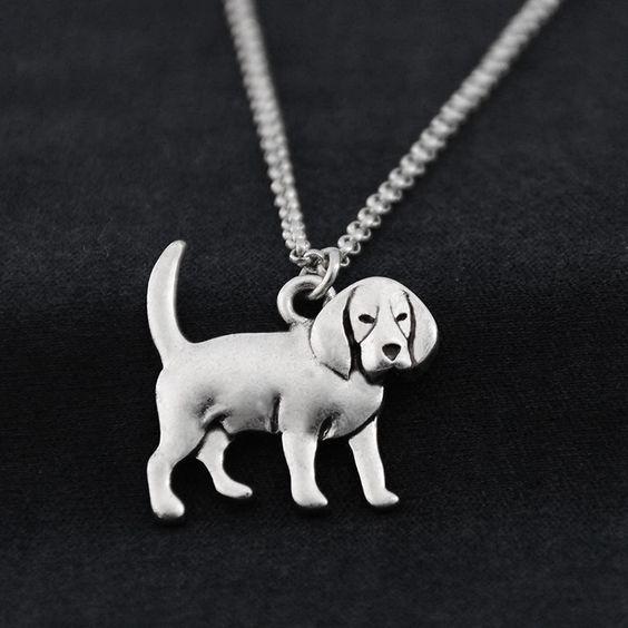 Beagle medál, lánccal 1