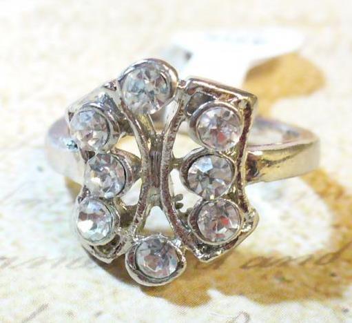 Íves, 8 köves gyűrű