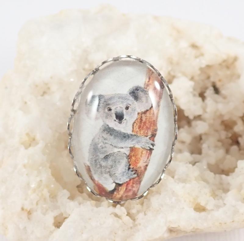 Koala gyűrű