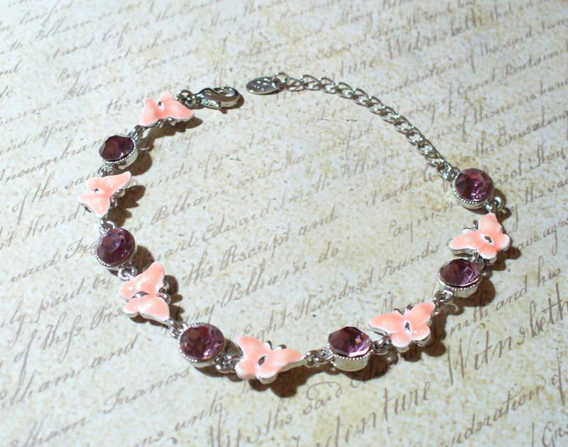 Rózsaszín pillangós