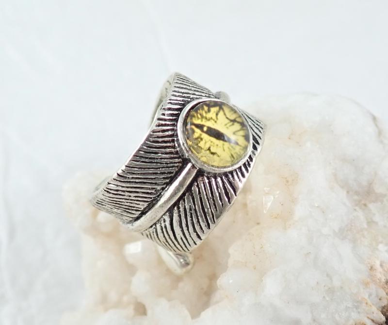 Sárkányszem gyűrű, sárga
