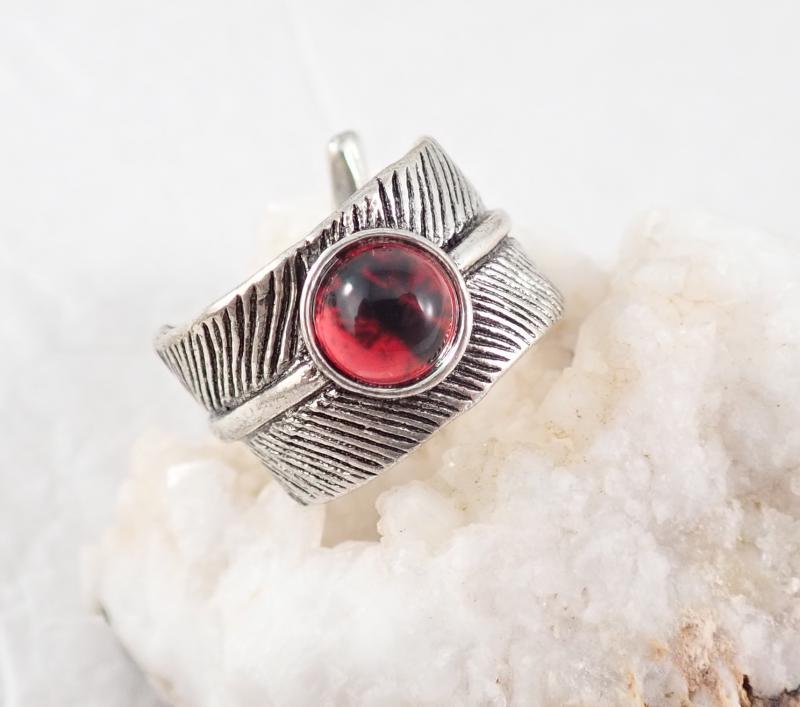 Sárkányszem gyűrű, vörös