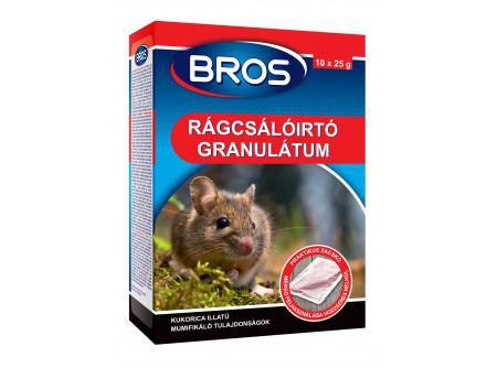 B1632 Rágcsálóirtó granulátum 140 gr egér és patkány ellen