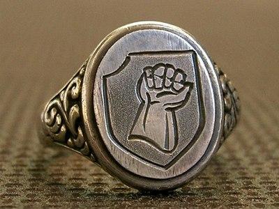 17. SS Götz von Berlichingen bajtársi gyűrű