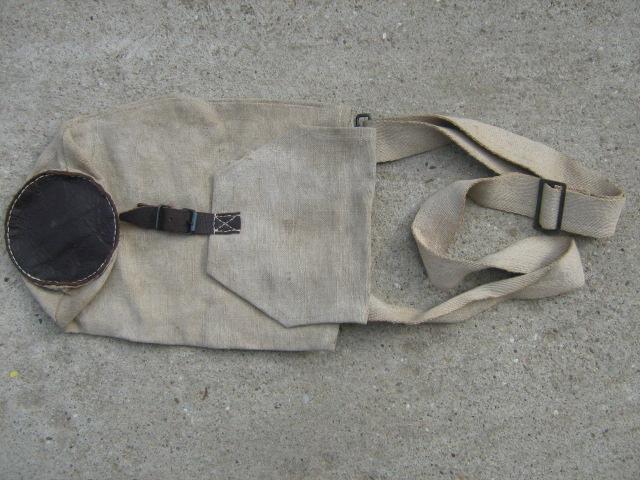 1934 M vászon gázálarc hordtáska