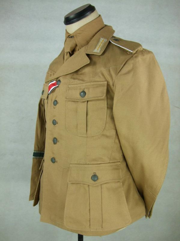 48e7178c3b86 Afrika Korps sivatagi zubbony felvarrókkal - haditudosito ...