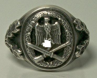 Allgemeine Sturmabzeichen német bajtársi gyűrű