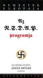 Az NSDAP programja és világnézeti alapjai