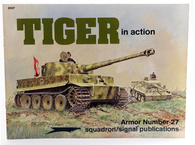 Bruce Culver: Tiger in action