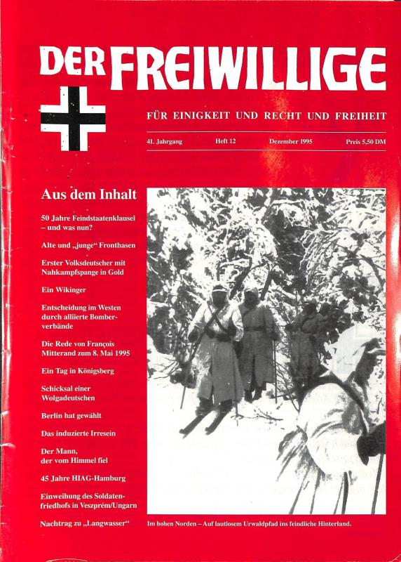 Der Freiwillige Dezember 1995